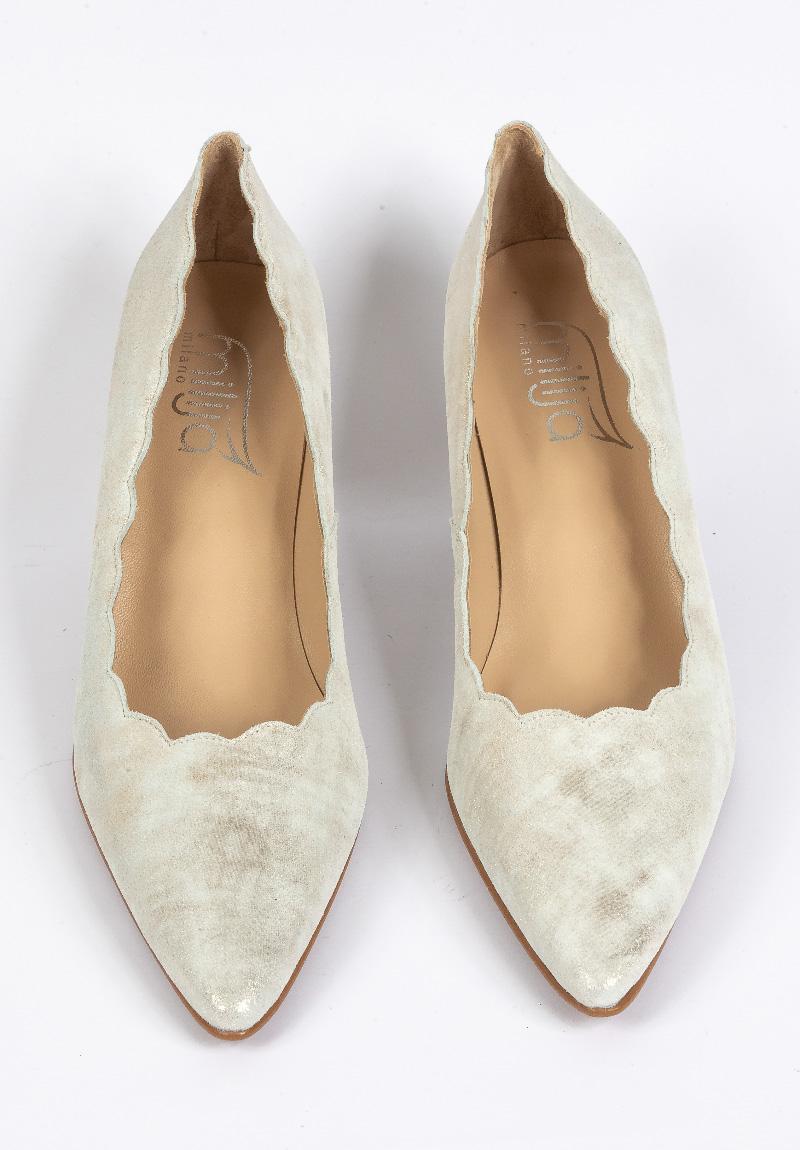 Silberne Schuhe - Milija Milano