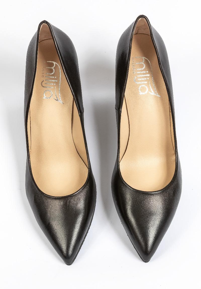 Schwarzer High-Heel von Milija Milano