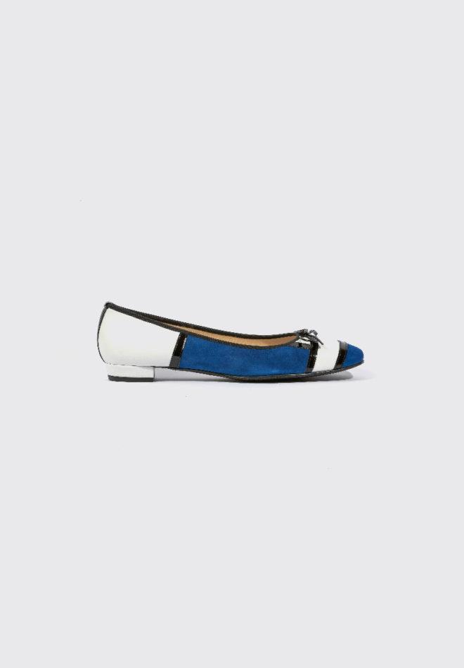 Blaue Schuhe - Milija Milano