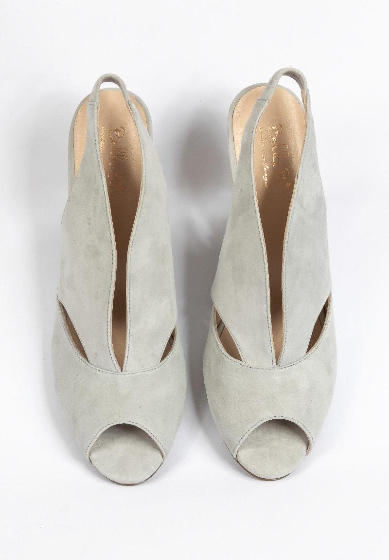 Grauer High-Heel von Bella B.