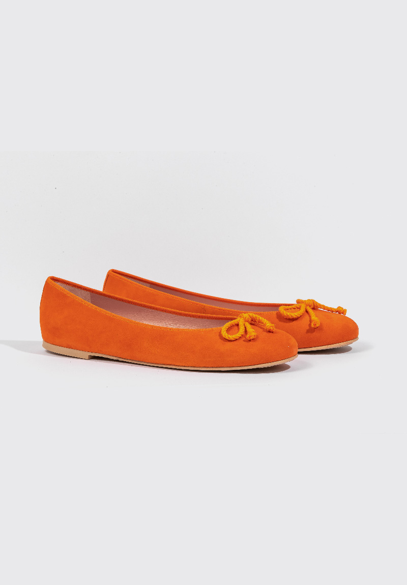 orange Pretty Ballerinas Schuhe