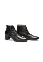 Stiefelette Milija Milano Grösse 43, 44, 45 Schwarze Schuhe