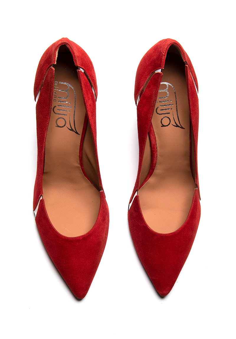Rote Pumps 43, 44, 45