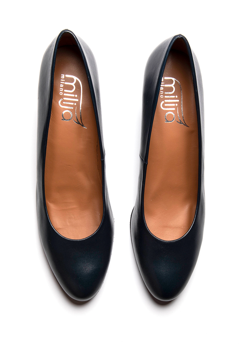 Blaue Pumps Bella B.