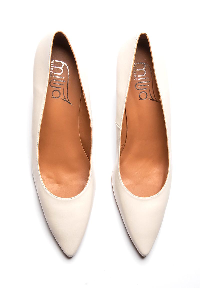 Weisse Schuhe - Milija Milano