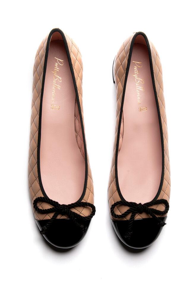Beige Pretty Ballerinas Schuhe