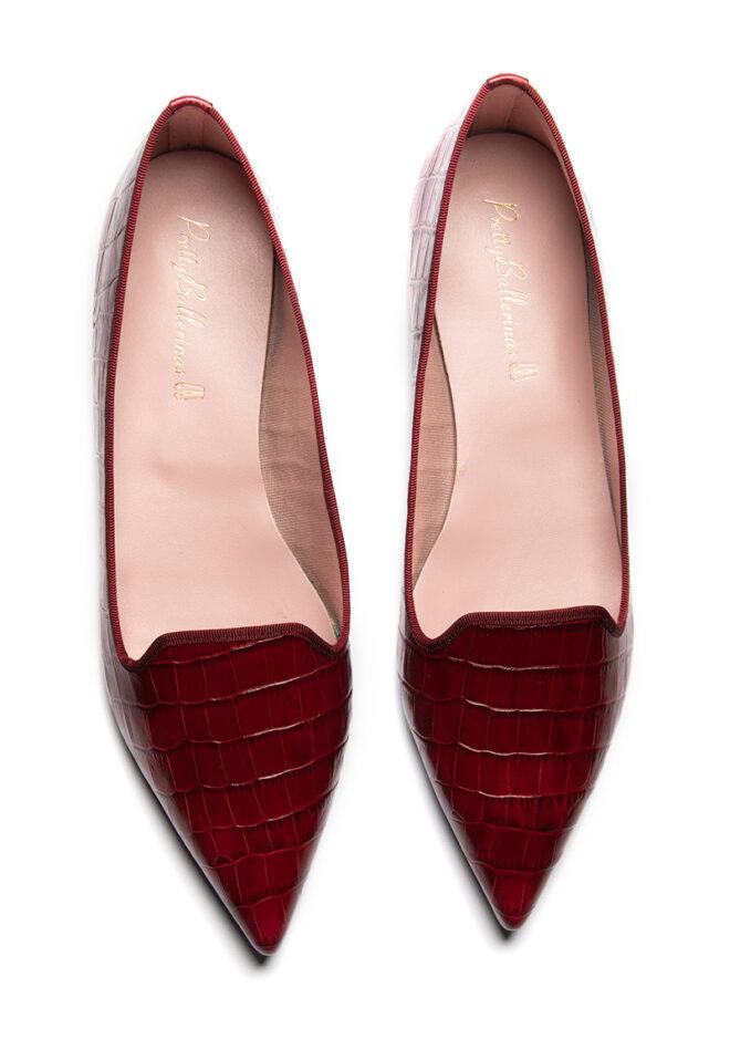 Pretty Ballerinas Rot Schuhe