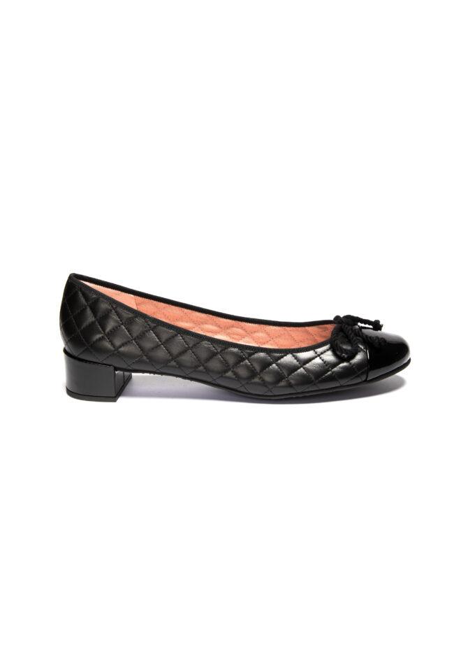 Schwarz-Pretty-Ballerinas-Schuhe